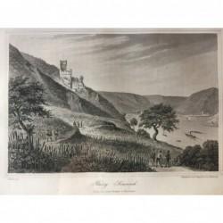 Sonneck, Gesamtansicht Burg...