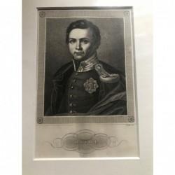 Otto I. - Stahlstich, 1850