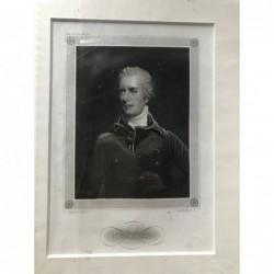 W. Pitt - Stahlstich, 1850
