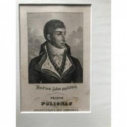 Prince Polignac, President...