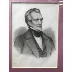 Polk - Stahlstich, 1850