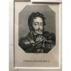 Poniatowski - Stahlstich, 1850