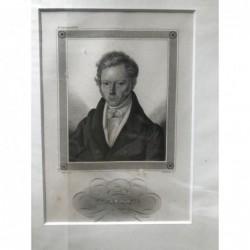 Welcker - Stahlstich, 1850