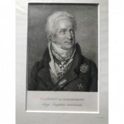 C. A. Fürst von Hardenberg,...