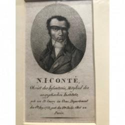 N. I. Conté - Kupferstich,...
