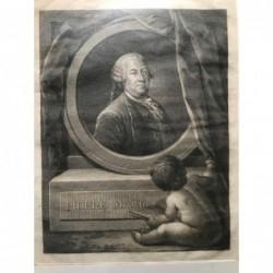 Pierre Mauru - Kupferstich,...