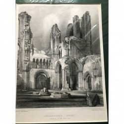 Aberbrothock Abbey -...
