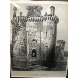 Caerlaveroc Castle,...