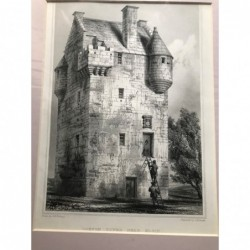 Coxton Tower near Elgin -...