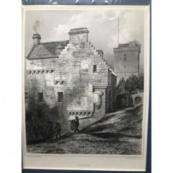 Dysart - Stahlstich, 1850