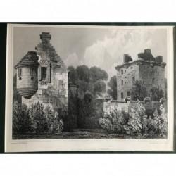 Edzell Castle, Forfar -...