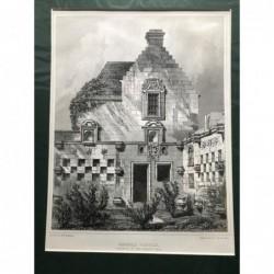 Edzell Castle - Stahlstich,...