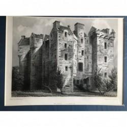 Elcho Castle - Stahlstich,...