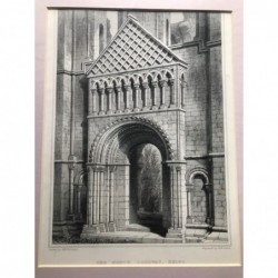 Kelso: The North Doorway -...