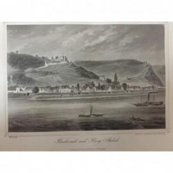 Burg Stahleck, Gesansicht...