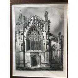 South Transept of Melrose -...