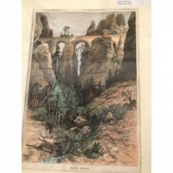 Bastei- Brücke, sächs....