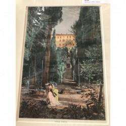 Rom: Ansicht Villa d'Este -...