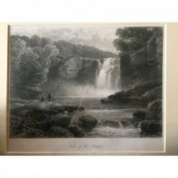 Wasserfall der Hespte:...
