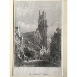 Brügge: Ansicht Kathedrale...