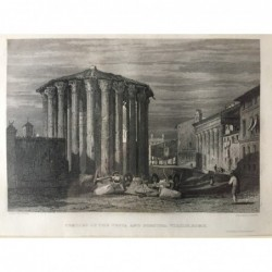 Rom, Gesamtansicht: Temple...
