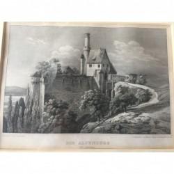 Die Altenburg: Ansicht -...