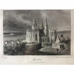 Oppenheim - Stahlstich, 1875