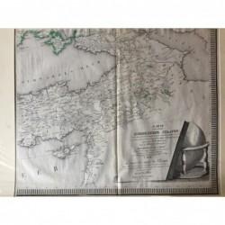 Kleinasien - Kupferstich, 1820