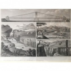 Brückenbau: 4 Abb. -...