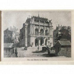 Karlsbad: Theater -...