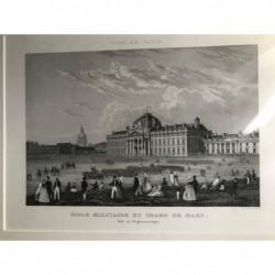 Paris, Gesamtansicht: Ecole...