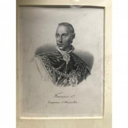 Franz I. - Lithographie, 1830