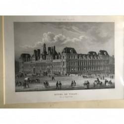Paris, Ansicht: Hôtel de...