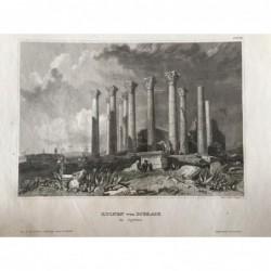 Gerasa: Ansicht der Ruinen...
