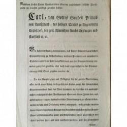 Dekret Regensburg...