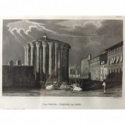 Rom, Ansicht: Der Vesta-...