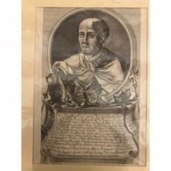 Ruthard - Kupferstich, 1750