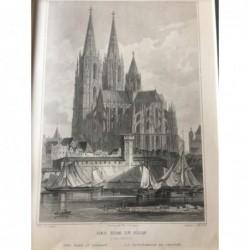 Köln, Außenansicht: Der Dom...
