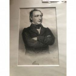 Auer - Stahlstich, 1850