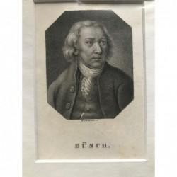 Büsch - Punktierstich, 1850