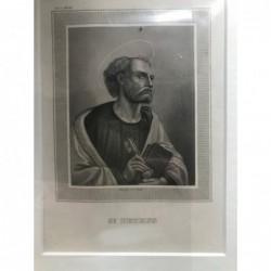 St. Petrus - Stahlstich, 1850