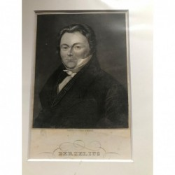 Berzelius - Stahlstich, 1850