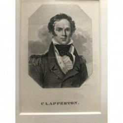 Clapperton - Stahlstich, 1850