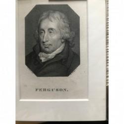 Ferguson - Kupferstich, 1820