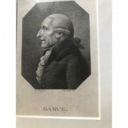 Garve - Punktierstich, 1800