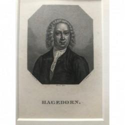 Hagedorn - Punktierstich, 1850