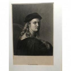 Raphael - Stahlstich, 1850