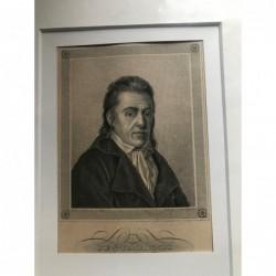 Pestalozzi - Stahlstich, 1850