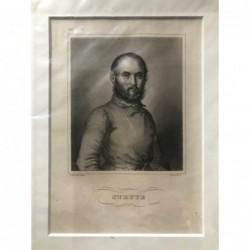 Struve - Stahlstich, 1850