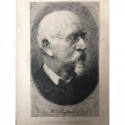 W. Riefstahl - Radierung, 1880